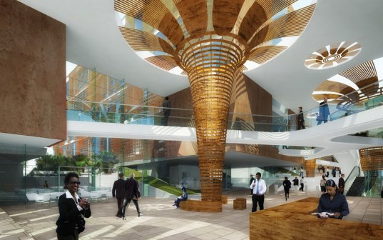 Ethiopian Airlines Headquarter / Söhne & Partner Architekten
