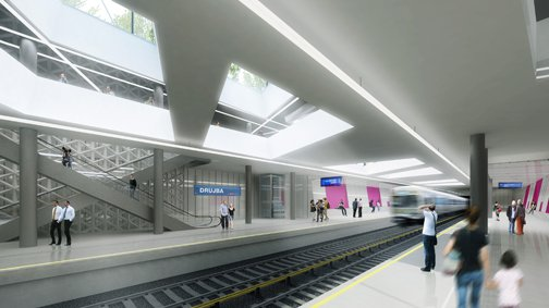 Metro-Station Sofia / Söhne & Partner architects